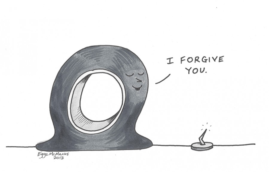 When learning to forgive, begin with yourself